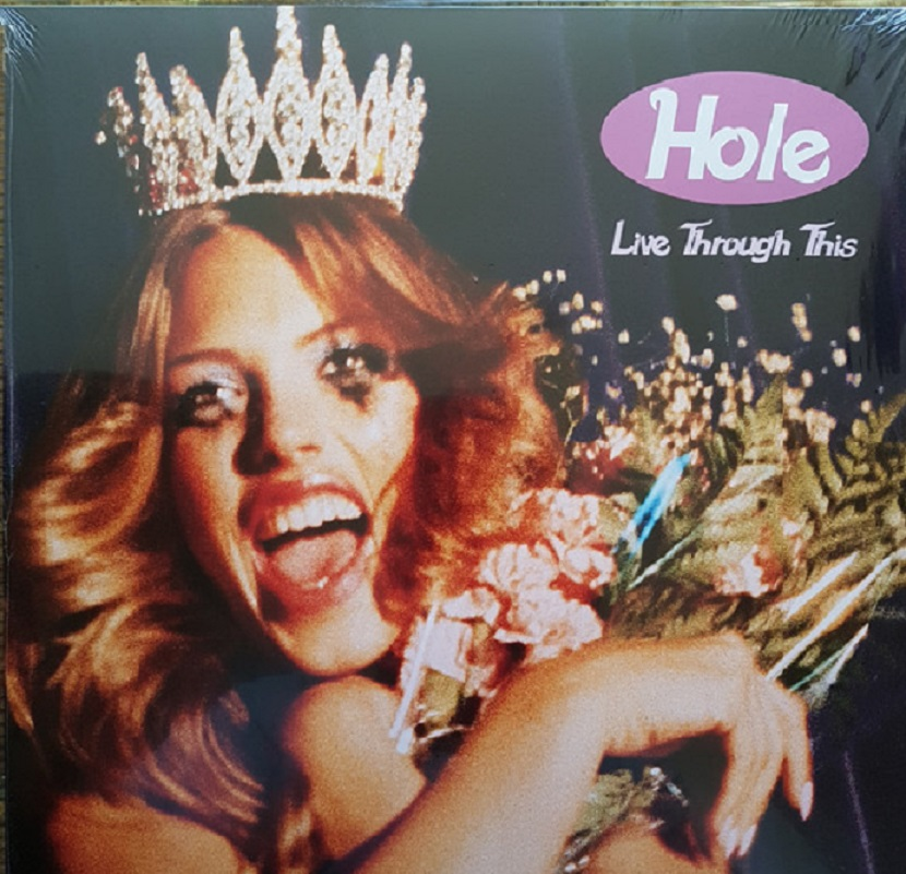 Hole Live Through This vinyl album
