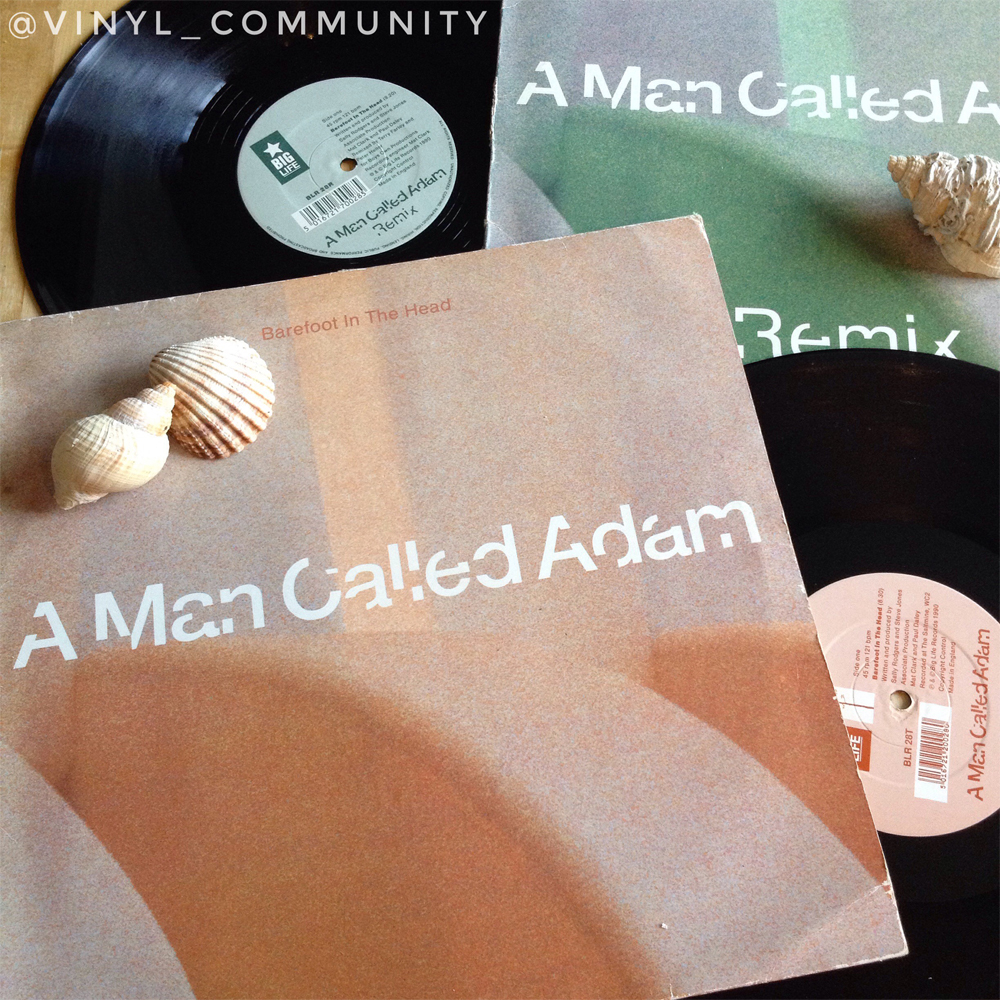 A Man Called Adam Barefoot In The Head 12 inch vinyl singles