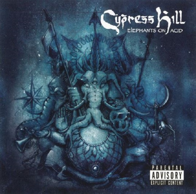 Cypress Hill Elephants On Acid vinyl album