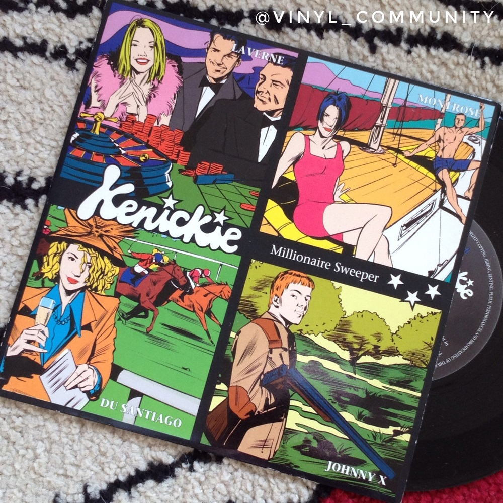 Kenickie Millionaire Sweeper 7 inch record