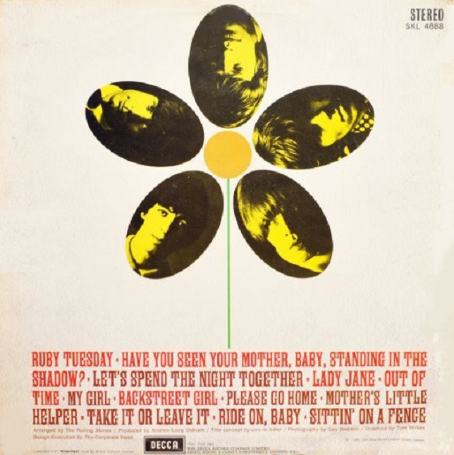 The Rolling Stones Flowers compilation album