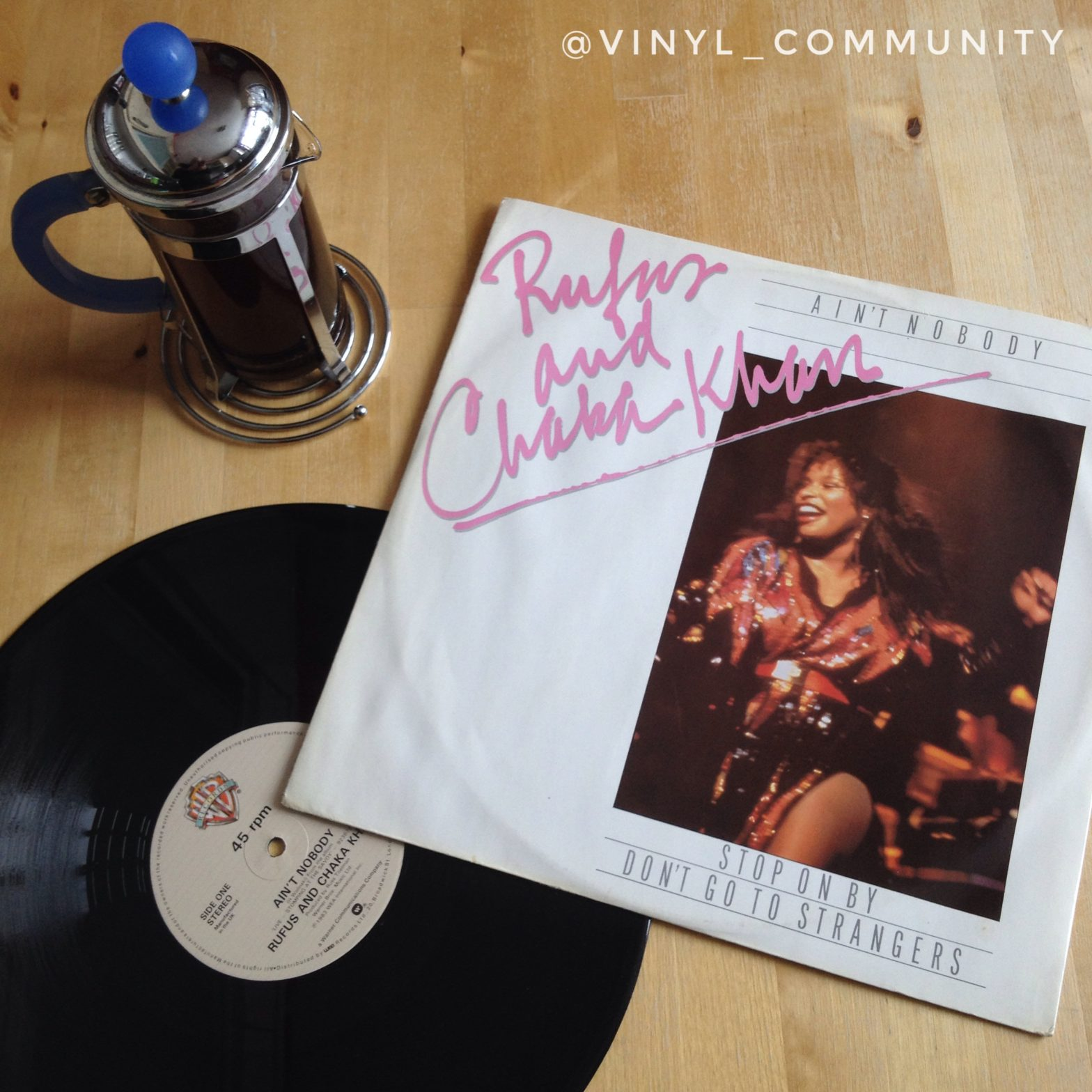 Rufus and Chaka Khan - Ain't Nobody twelve inch single