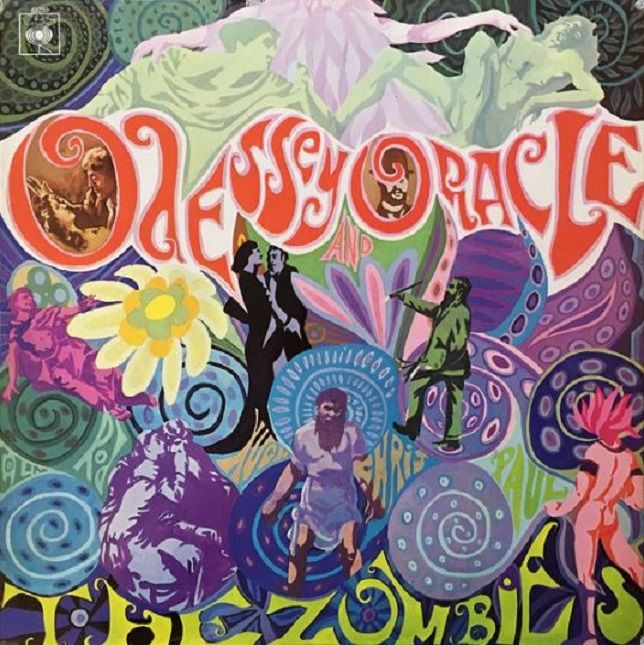 The Zombies Odessey And Oracle vinyl album