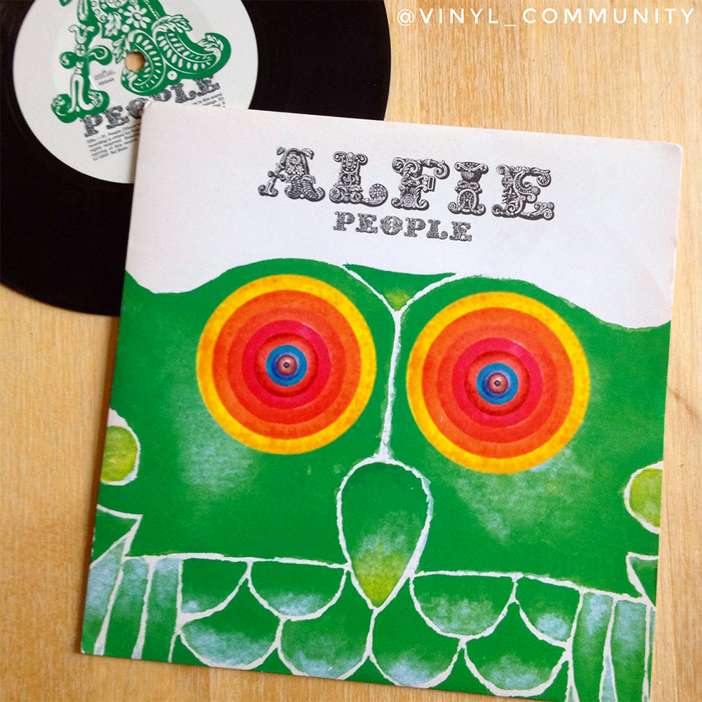 Alfie People indie 45 vinyl single