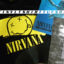 Nirvana T-shirt and Nevermind record for Vinyl T-shirt Tuesday