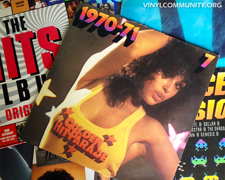1970 compilation LP and other vinyl albums